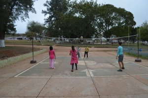 Volleyball at Hogar Infantil